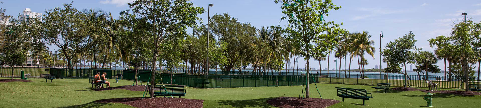 Bay Parc Plaza Apartments in Miami, FL - Dog Park